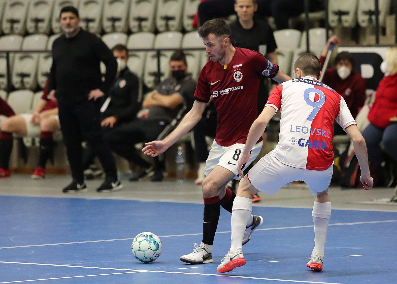 Sparta v prvním čtvrtfinále podlehla Slavii 0:1