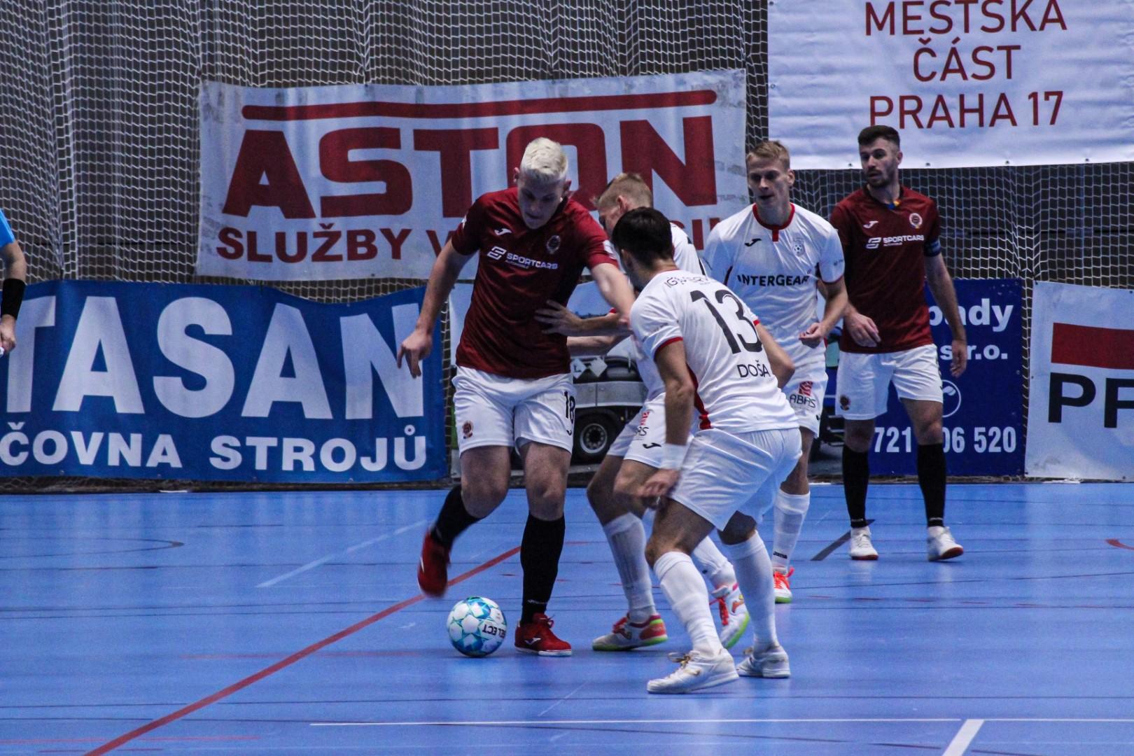 Sparťané v Teplicích bojovali, ale do čtvrtfinále nepostupují